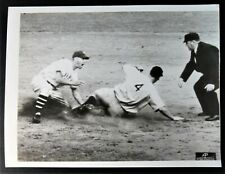 1936 Lou Gehrig Rare World Series Action Shot Original News Service Photo
