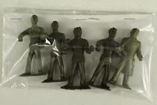 "Vintage MPC 2-5/8"" Plastic US Military Toy 5PC WWII ARMY MEN Figures 15 24 21"