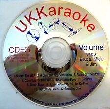 UK Karaoke CDG - Vol. 3103  (Bruce, Mick & Jim)