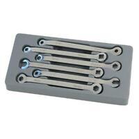 6 Pezzi Freno Chiave Strumento Set - Quadrato E Esagonale - Metrico E Cuscinetto
