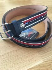 Paul & Shark Leather Belt 125cm BNWT-easy to cut to size