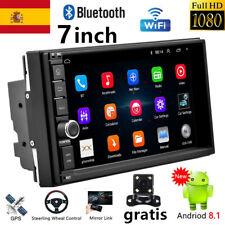 "7"" 2 DIN Android 8.1 Autoradio Radio de coche GPS Navi WiFi FM  MP5 + cámara"
