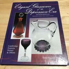 Elegant Glassware of the Depression Era 8th Edition Hardcover