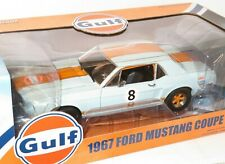 """1/18 Ford Mustang Coupe 1967  """" Gulf """"   Full opening features"""
