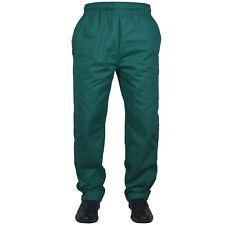 Black Chef Trousers 100% Cotton pant 3 Pockets Unisex design White Chef Trousers