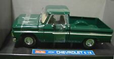 Wow Extremely Rare Chevrolet C10 Pickup Truck 1965 Green 1:18 Sun Star-Auto Art