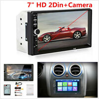 7inch 2 DIN Bluetooth Car Radio Stereo MP5 Player TF/AUX/FM Touch Screen +Camera