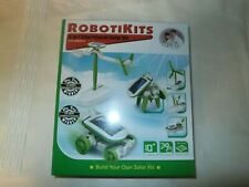 Solar Powered Robotikits 6 in 1 Educational Solar Energy Kit Build 6 Models