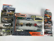 Matchbox - 9-Pack with Exclusive Vehicle & 6 individual cars     LOT OF 7