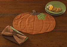 Harvest Pumpkin Quilted Placemat