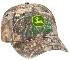 NEW John Deere Realtree Washed Edge Camo Cap Unstructured Low Profile LP69045