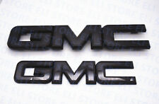 2014-2018 GMC Sierra Black Emblem Package Front & Rear 1500 2500HD 3500HD