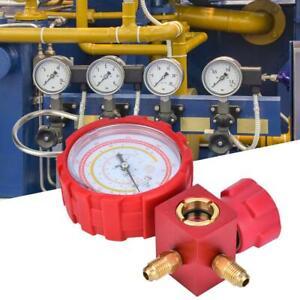 Auto Air-Conditioning Manifold Gauge Tool AC Refrigeration R22/R410A/R134A/R407C