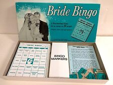 Vintage Bride Bingo Game Leister Game Co. Bridal Shower / Wedding Game