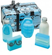 Bath Gift Set Bomb Cosmetics Gentleman for Man Blaster Soap Shower Gel & Lotion
