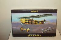 MAQUETTE  EDUARD   AVION FOKKER E.V SEA EAGLE NEUF 1/72 MODEL KIT PLANE/PLANO