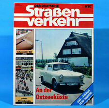 Der Deutsche Straßenverkehr 8/1987 Ribnitz-Damgarten Velorex 700 Bautzen M11