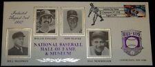 1992 Baseball Hall Of Fame Cachet # 322