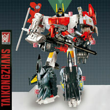 Transformation 6 IN 1 G1 Superion IDW War Team Action Figure KO Toys Combination