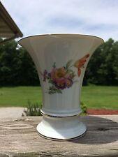 Vintage Furstenberg Porcelain Trumpet Vase