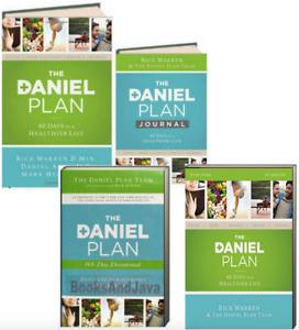 The Daniel Plan 40 Days to a Healthier Life,Devotional & Journal by Rick Warren