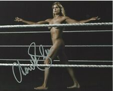 SEXY CHARLOTTE FLAIR SIGNED ESPN BODY ISSUE 8X10 PHOTO B COA PROOF WRESTLING RIC