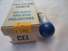 Sylvania CEL 120W 120V 200 Hours Blue Top Projector Lamp Projection Bulb NOS
