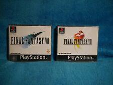 Final Fantasy VII 7 & VIII 8 PlayStation 1, PS1 - Retro - Tested