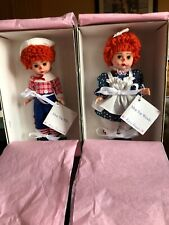 NEW Madame Alexander Mop Top Wendy 140484 & Mop Top Billy 140485 W/ Tags & Boxes