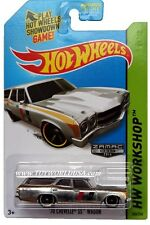 2014 Hot Wheels #245 HW Workshop HW Performance '70 Chevelle SS Wagon ZAMAC #010