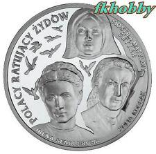 Poland 2009 silver 20 zl Poles who saved Jews Judaica