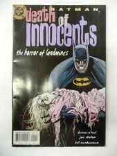 batman death of the innocents the horror of landmines    dc  comics