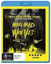 Big Bad Wolves (Blu-ray) Crime Quentin Tarantino [Region B] NEW/SEALED