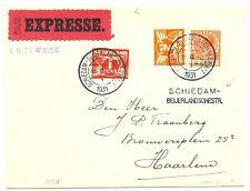 NEDERLAND 1931   EXPRESSE DRUKWERK   = SCHIEDAM-BEIJERLANDSCHESTR. =  PRACHT