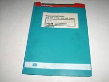 Werkstatthandbuch Audi 100 Typ 44 Dieselmotor 2,5 I