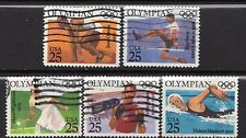 Scott #2496-2500 Used Set of 5, Olympians