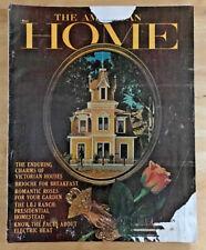 The American Home 1964 Tassos Katsellas Victorian Houses Brioche Desserts