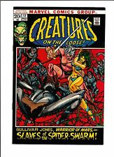 """CREATURES ON THE LOOSE #17 [1972 FN-]  """"SLAVES OF THE SPIDER-SWARM!"""