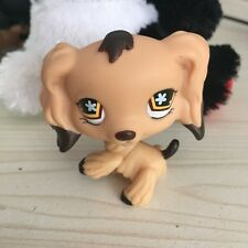 LITTLEST PET SHOP Chocolate Dipped Cocker Spaniel Dog LPS Figure #575