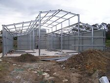 American Barn Shed 6inch C Section Purlin Bracket Set-Garage-Farm-Steel Plate