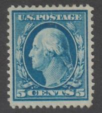 USA 1910-14 Washington 5c MH VF - Scott 378  /  N4168