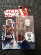 "Star Wars The Force Awakens Resistance Trooper Collectable Figure 3.75"" Tall"