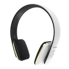Wireless Kopfhörer Bluetooth Head Set Handy PC Headphones Mikrofon in WEISS