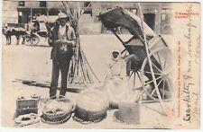 Transvaal: Postcard, 'Hawker, Johannesburg' to Salford, 2 June 1906