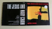 """The jesus and mary chain 7""""d/pack April skies 1987  neg 24 sleeve vg+ vinyl vg+"""