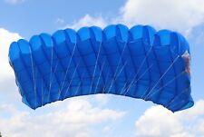 MicroRaven 135 sq ft skydiving parachute reserve canopy - excellent shape - blue