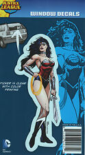 DC Justice League New 52: Wonder Woman Color Car Window Sticker Decal Family