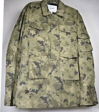 Soulland Mens Jacket Camouflage Coach Field M-65 Coat L NWT