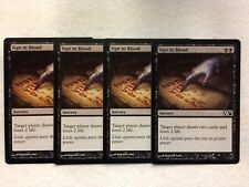 MTG 4x Sign in Blood Various Modern EDH Commander Magic Gathering Card x4 NM