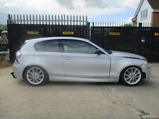 BMW E81 120D M SPORT 2 DOOR CREAM WHITE LEATHER SEATS + DOOR CARDS 2008 FITTING